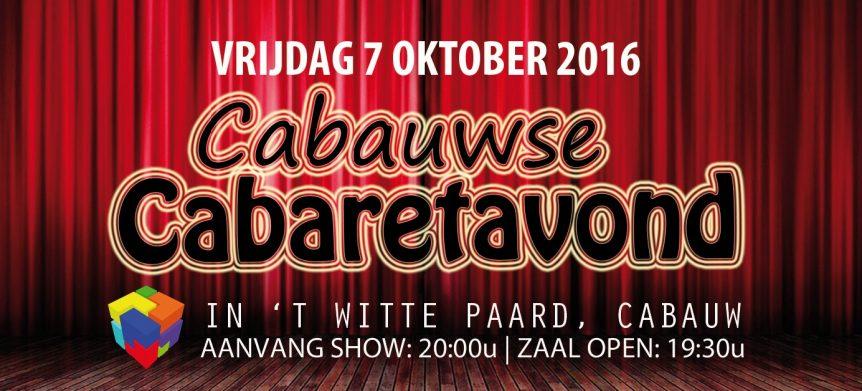 cabaretavond 2016